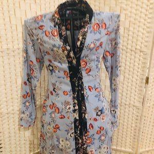 Anthropology Maeve floral dress
